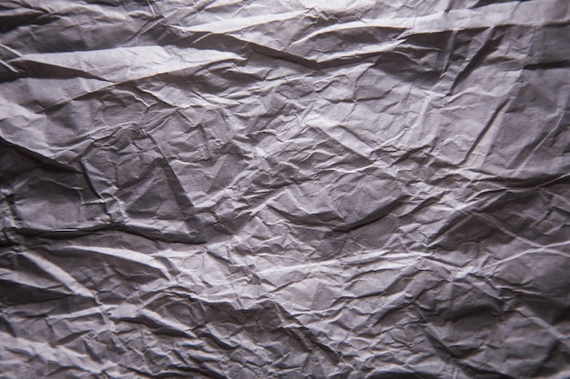 Textura de papel de fondo kraft arrugado gris