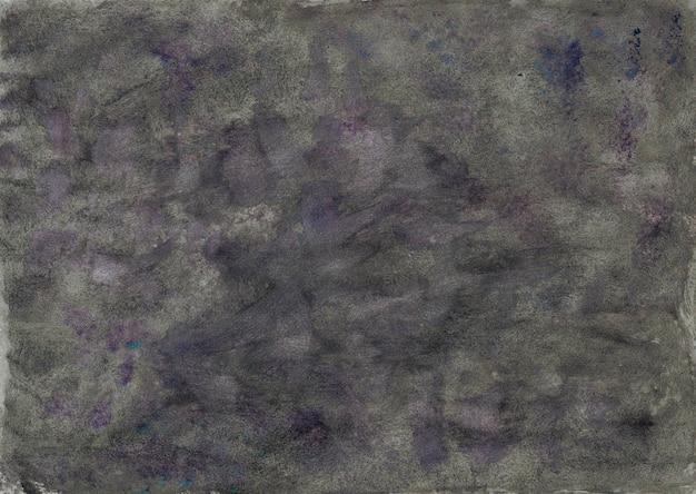 Textura de papel gris con pintura de acuarela. fondo