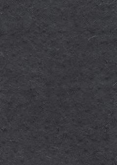 Textura de papel negro reciclado nepalés natural