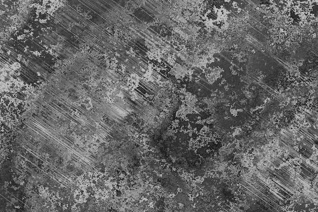 Textura de la pared de arañazos pintura estuco negro, gris, color blanco. renderizado 3d