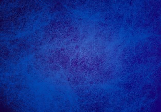Textura de la pared azul grunge