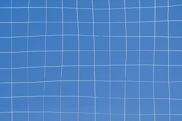 Textura de pared de azulejo azul distorsionada