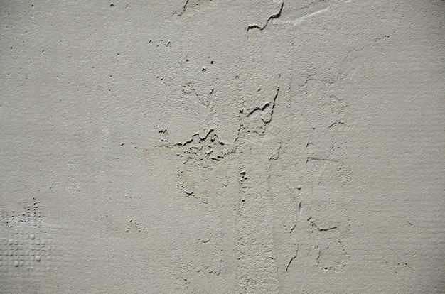 La textura de la pared, cubierta con espuma de poliestireno gris.