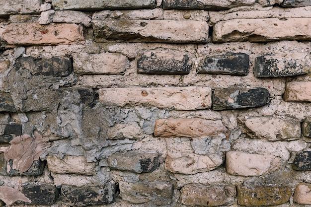 Textura de pared de ladrillo antiguo