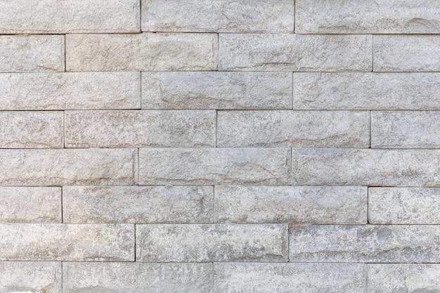 Textura de pared de ladrillo blanco.