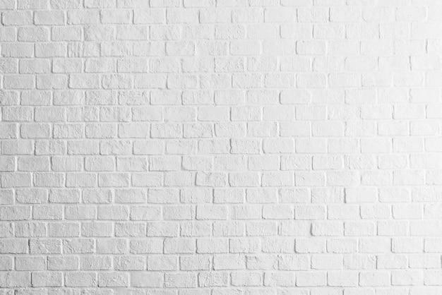 Textura de pared de ladrillos blancos