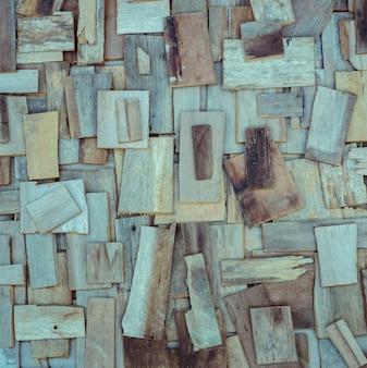 Textura de pared de madera de chatarra
