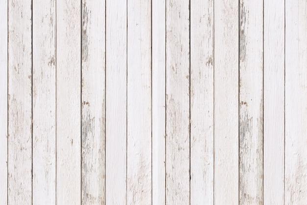 Textura de pared de madera natural blanca y fondo