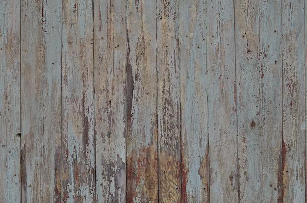 La textura de la pared de madera resistida