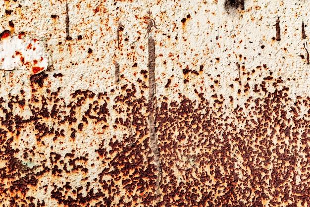 Textura de una pared de metal con grietas y arañazos que se pueden utilizar como fondo