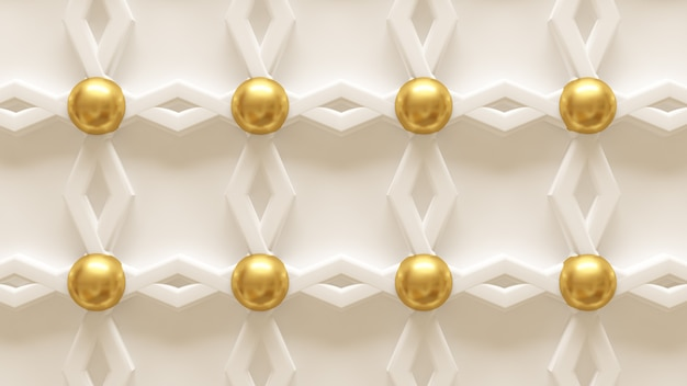 Textura de pared de oro. representación 3d