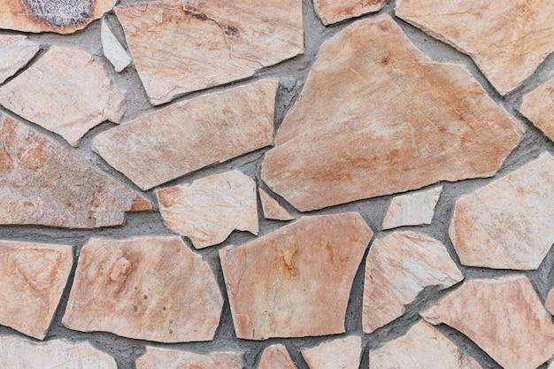 Textura de la pared de piedra