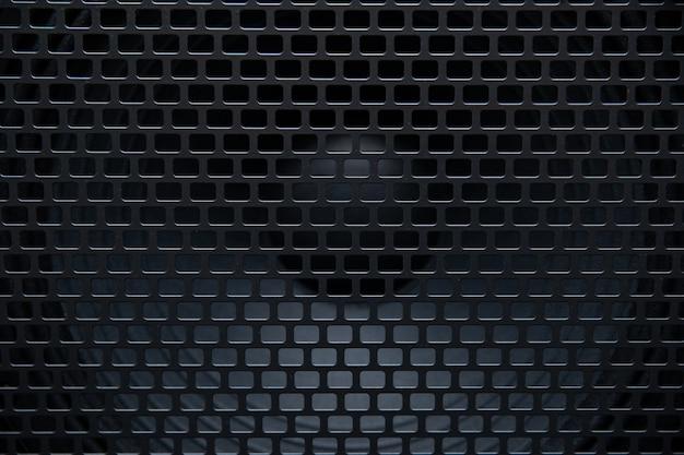 Textura de la parrilla del altavoz para el fondo