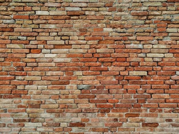 Textura de patrón de pared de ladrillo