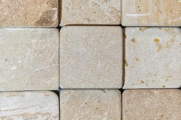 La textura de la piedra natural