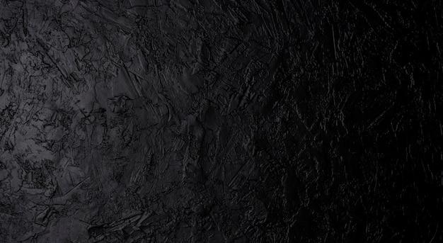Textura de piedra negra, pizarra oscura, vista superior
