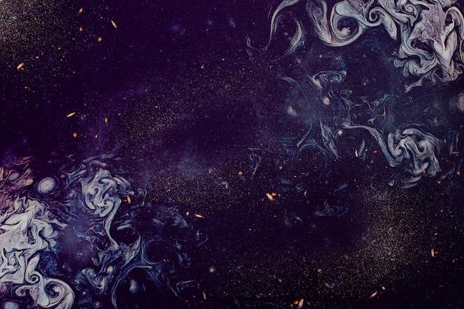 Textura de pintura de aceite púrpura