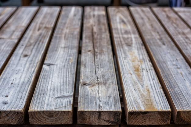 Textura de piso de tablas de madera.