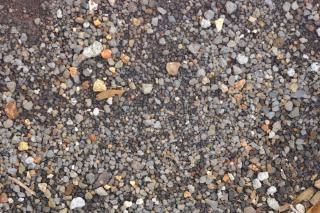 Textura de la roca pequeña