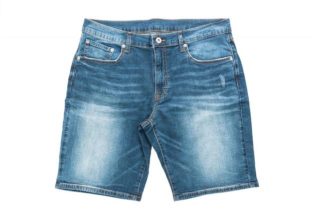 La textura de la ropa de color azul de fondo