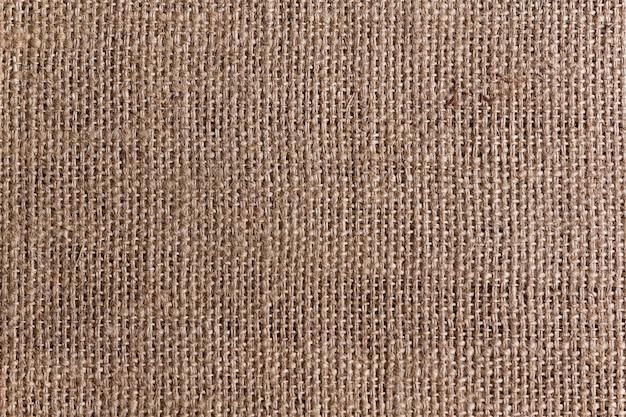 La textura de saco de arpillera o de cáñamo