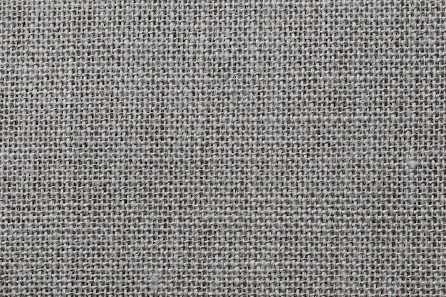 Textura del saco de cáñamo marrón.