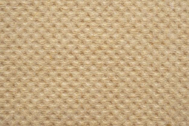 Textura de servilleta de papel de seda reciclado marrón abstracto