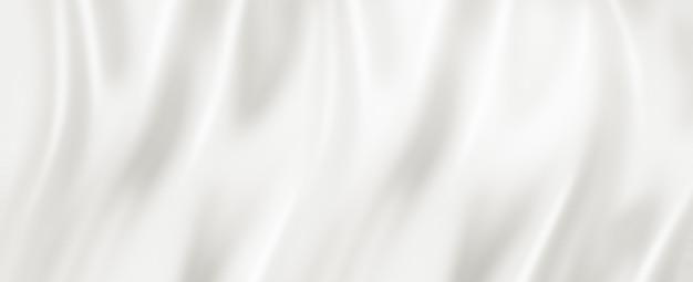 Textura superficial de seda blanca