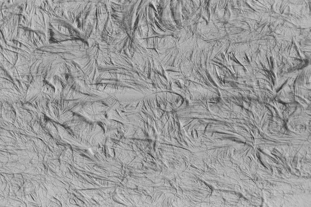 Textura de superficie arrugada de cerca