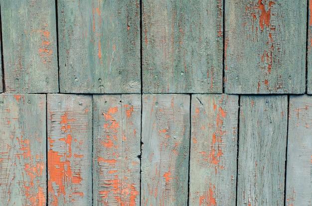 Textura de tablas de madera pintadas