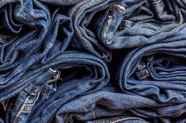 Textura de los tejanos para cualquier fondo