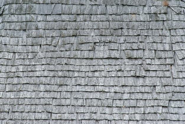 Textura de tejas de madera vieja