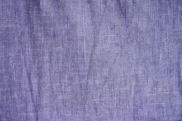 Textura de tejido de lana azul.