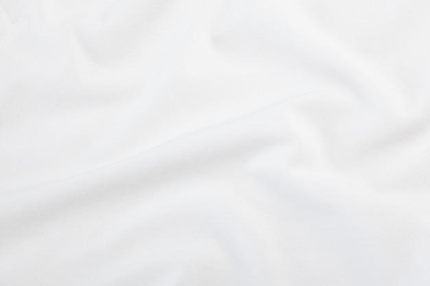 Textura de tela blanca, patrón de tela.