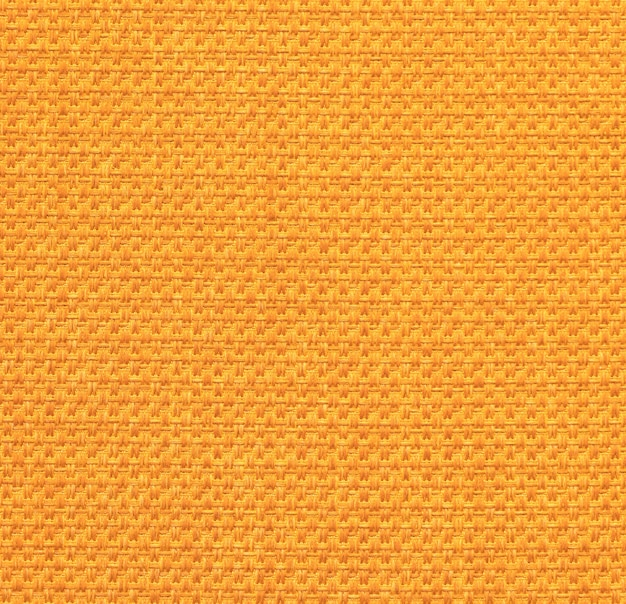 Textura de tela naranja