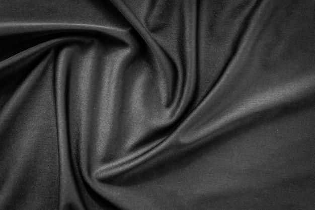 Textura de tela negra y fondo