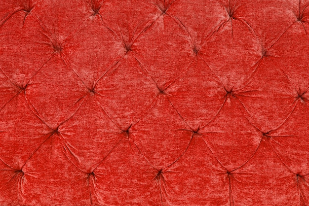 Textura de tela roja con un estilo retro