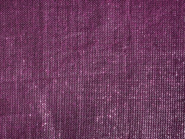 Textura de tela de tela púrpura de primer plano