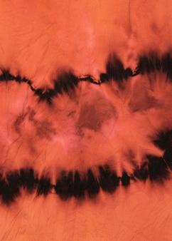 Textura de tela de teñido anudado multicolor