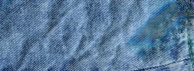 Textura de la textura de los pantalones vaqueros de cerca
