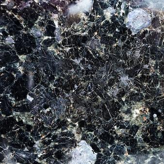 Textura transparente de granito blanco y negro