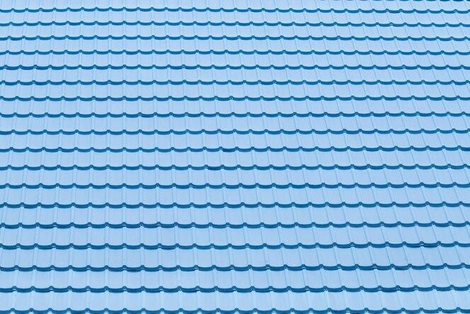 Textura y patrón de tejas azules uso para el fondo