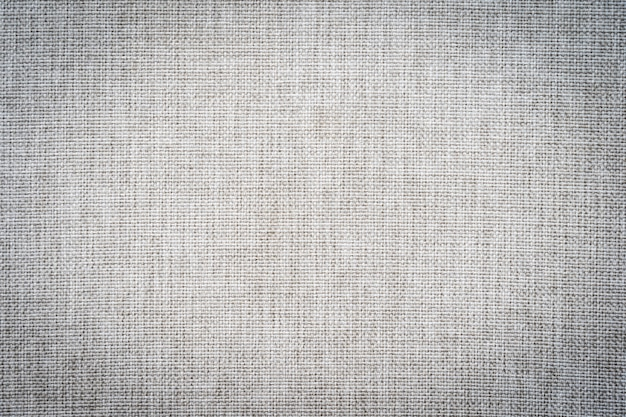 Texturas abstractas y superficiales de tela de algodón gris.