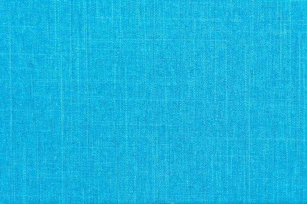 Texturas de algodón azul.