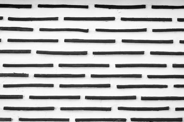 Texturas de fondo de pared de ladrillo grunge blanco y negro