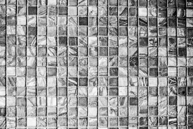 Texturas de pared de azulejos de piedra negra