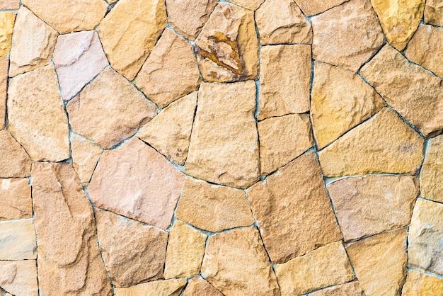 Texturas de la pared de piedra