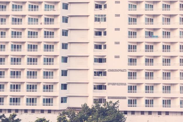 Texturas patrón de windows exterior del edificio.