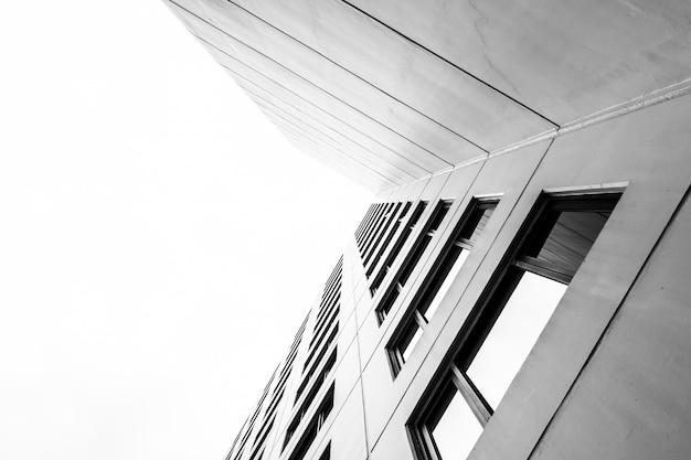 Texturas de patrones de construcción de oficinas