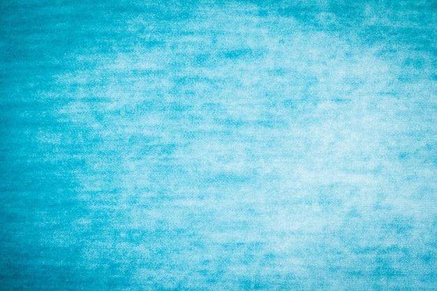 Texturas y superficie de algodón azul.